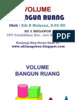 Volume Bangun Ruang - SD 3 Megawon