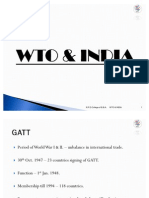 WTO & India