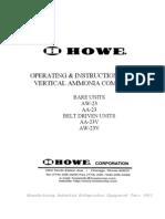 Vertical Ammonia Compressors