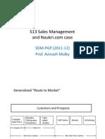 S13 Sales Management and Naukri