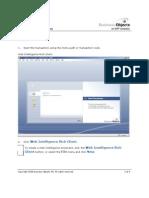 01 Creating a New Web Intelligence Document