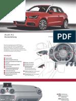 Audi A1 Kurzanleitung