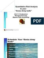 Your schedule as a Swiss Army knife