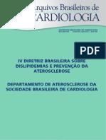 213--Diretriz Brasileira Dislipidemias Aterosclerose