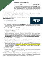 QUESTIONÁRIO INTERNACIONAL DE ATIVIDADE FÍSICA modoficado
