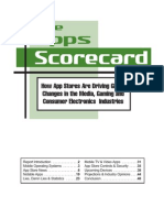 Extracts From the Apps Scorecard Report