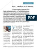 DVT and Pulmonary Embolism