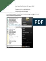 Cargar BD Northwind en SQL Server 2008