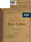 Steam Turbines 1911