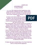 CONTO DE ASSOMBRAÇÃO