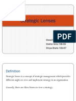 SM-1 Presentation- Strategic Lenses