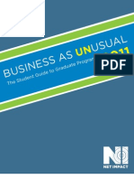 Net Impact_Business as UNusual 2011