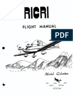 CriCri Flight Manual