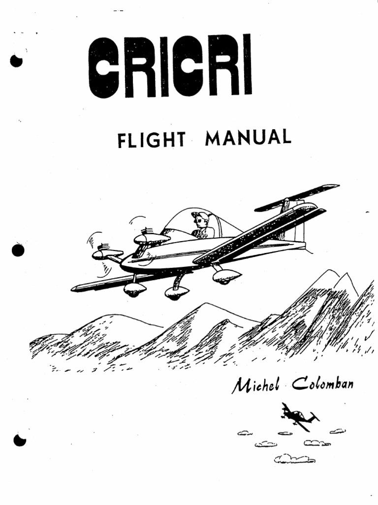 CriCri Flight Manual