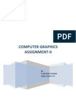 Computer Graphics Assignment