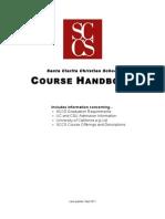 SCCS Course Handbook 2011-2012