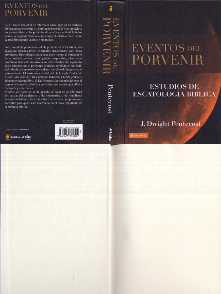 libro eventos del porvenir pentecost gratis