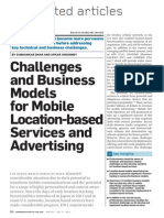 Challenges and BM for Mobile Location-based Services and Advertising