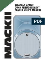 Manual Bafle Activo Mackie Srm450