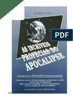 As Incriveis Profecias Do Apocalipse - Arnaldo Lopes