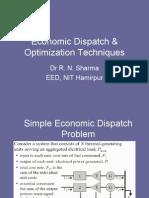 Economic Dispatch Lecture