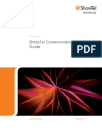 Shoretel 11 Communicator User Guide