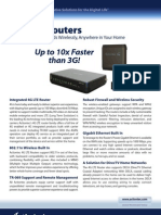 Actiontec 4GRN 4GLTE Router Datasheet