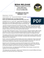Press Release 001-02-07-11_Soldiers Reintegrate