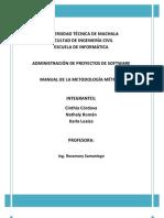 Manual Metrica