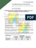 Contenido de Cemento Asfaltico2 (Minimo Recubrimiento Asfaltos)