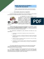 La gestión del proceso de diseño y desarrollo de producto