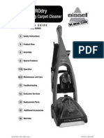 Bissell PROdry Upright Deep Cleaner