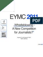 Booklet EYMC '11