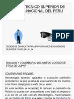 Diapositivas de Codigo de Conducta Pnp