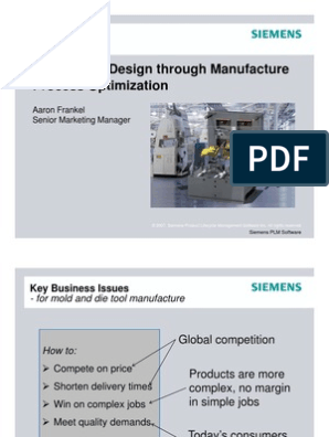 NX Mold Design s | Product Lifecycle | Industries