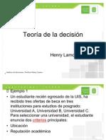 Teoria de Decisiones UIS