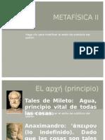 METAFÍSICA II