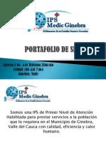 Port a Folio de Servicios Medic Ginebra 2011