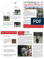 Mock Otterbein Equestrian Newsletter