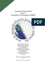 Apostila UDESC Preparatória para o Vestibular
