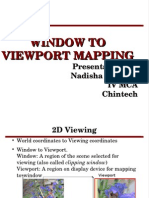 Window View Port Mapping Computer Graphics