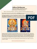 Aditya Hridayam