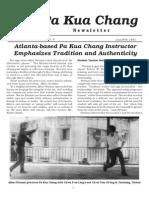 Pa Kua Newsletter Jan 1991