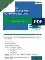 As Principais Mudancas Nas Normas de Auditoria Para 2010