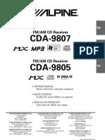 Alpine Cda9805