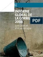 Informe Global de La Corrupcion AGUA[1]