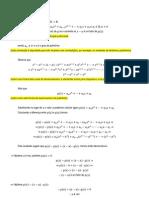 Funções Polinomiais - Teoria (PDF)