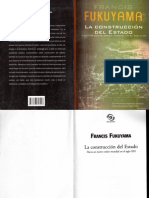 La Construccion Del Estado - Francis Fukuyama