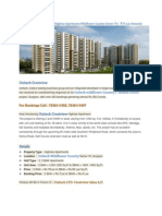 Unitech Crestview Gurgaon @7838111997 |  Wildflower Country Sector 70 | ₹ 70 Lac Onwards