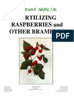Fertilizing Brambles
